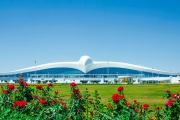 Report: Turkmenistan's falcon airport sinking