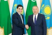 Kazakhstan and Turkmenistan sign strategic partnership treaty